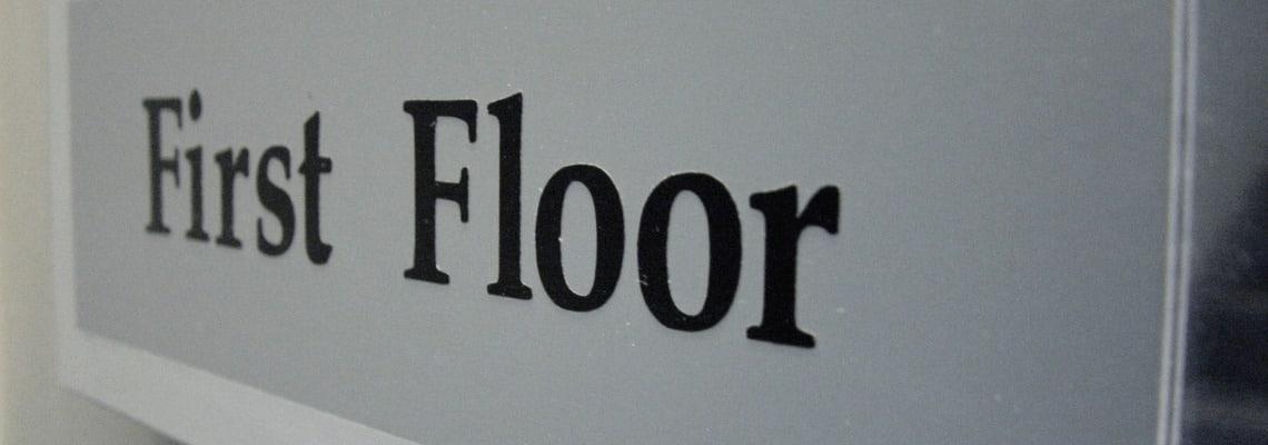prvé poschodie