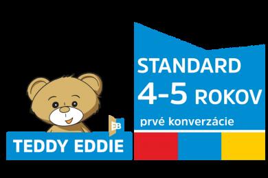 Teddy Eddie STANDARD | 4 – 5 rokov