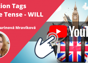 Question Tags - Future Tense - WILL v angličtine