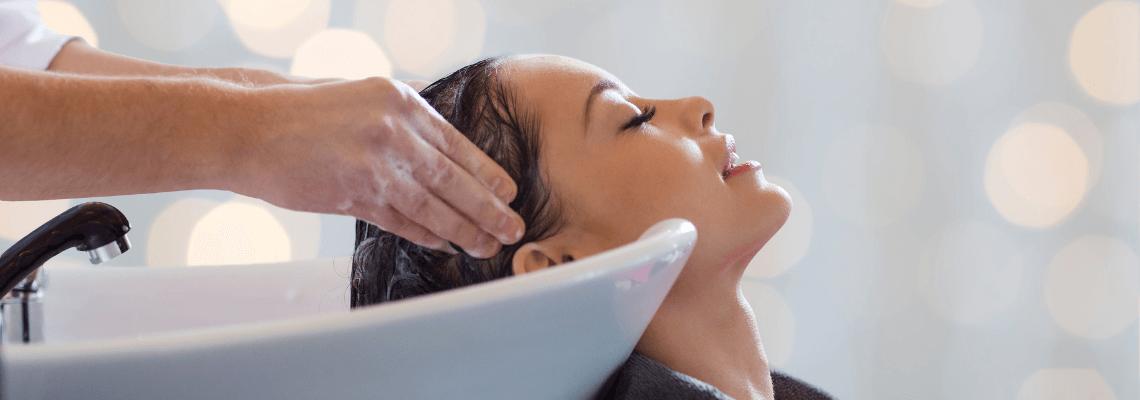 Umývanie vlasov
