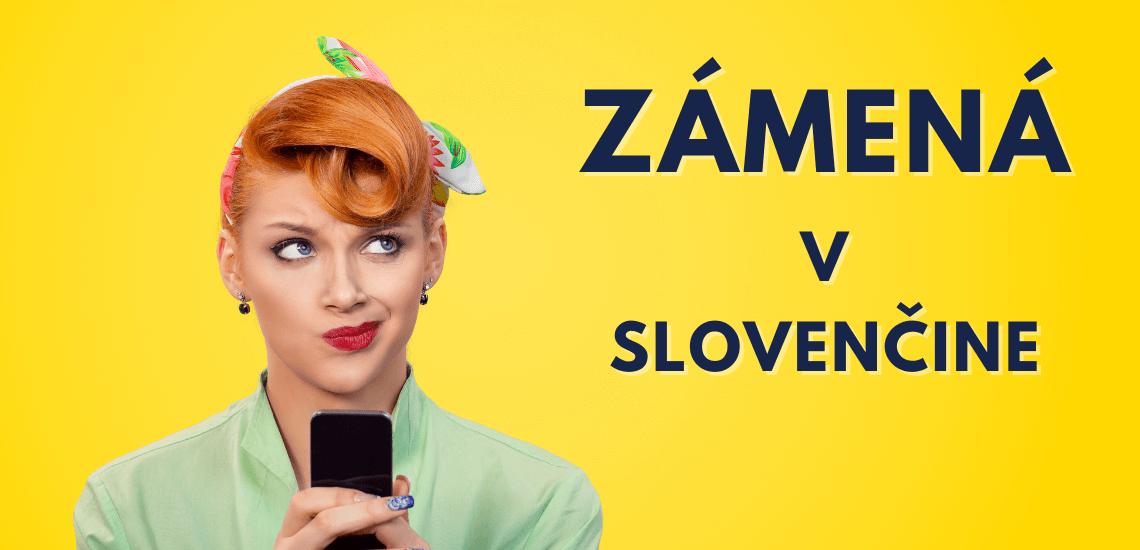 Zámená v slovenčine