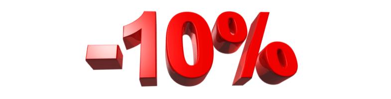 Zľava 10% na kurzy